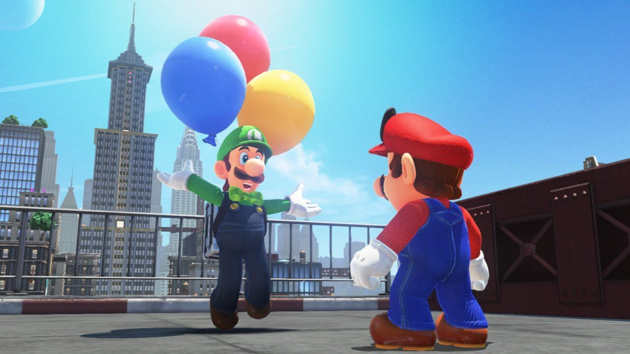 Super Mario Odyssey, Nintendo